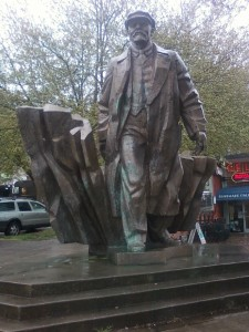 Lenin Statute, May 2011 Seattle