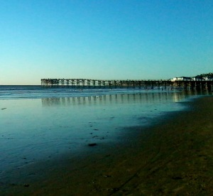 Early Nov pier shadow shot