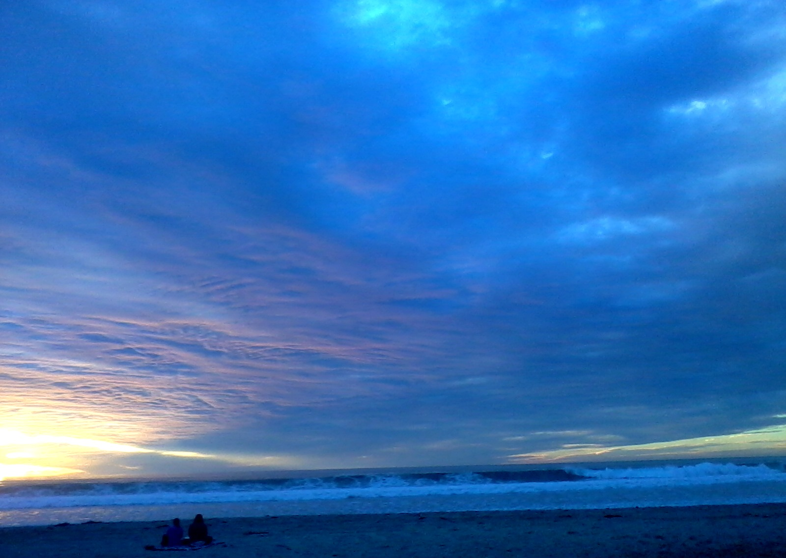 Sunset 6 panorama