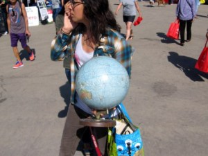EarthFair was held in San Diego's Balboa Park to celebrate Earth Day.